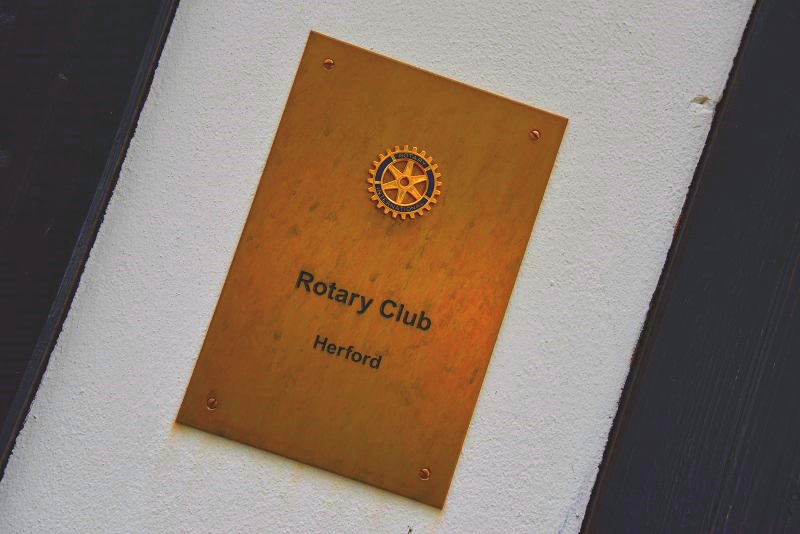 Zu Gast beim Rotary Club Herford