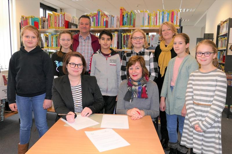 Kooperation mit der Stadtbücherei